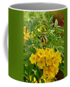 Purple Sunbird Coffee Mug