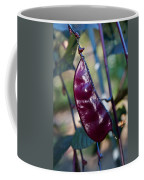 Purple Sweet Pea Pod Coffee Mug