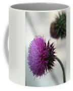 Purple Thistle Coffee Mug