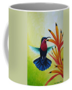 Purple-throated Carib And Bird Of Paradise Coffee Mug