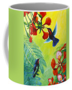 Purple-throated Caribs And Flamboyant Coffee Mug