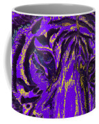 Purple Tiger Coffee Mug