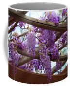 Purple Trellis Coffee Mug