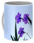 Purple Trio Coffee Mug