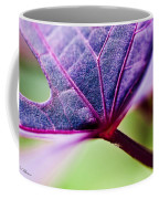 Purple Veins Coffee Mug