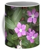 Purple Vintas Flower Photograph Coffee Mug