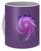 Purple Web Coffee Mug