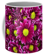 Purple Yellow Flowers Coffee Mug