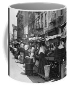 Pushcart Market, 1939 Coffee Mug