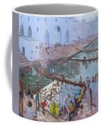 Pushkar Ghats Rajasthan Coffee Mug