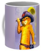 Puss In Boot Coffee Mug