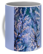 Pussy Willow Abstract Coffee Mug
