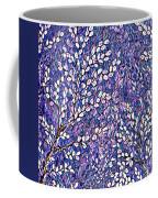 Pussy Willow Mosaic Coffee Mug