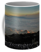 Pu'us Aglow In Late Afternoon Light Coffee Mug