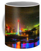 Pyongyang Night Scene Coffee Mug