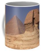 Pyramid And Sphinx Coffee Mug