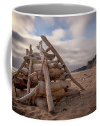 Pyramid In The Sand Coffee Mug
