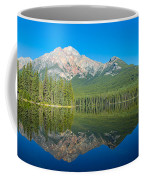Pyramid Island In The Pyramid Lake Coffee Mug