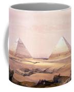 Pyramids Of Geezeh - Egypt Coffee Mug