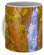 Pyrenees Spanish Bridge Waterfall Coffee Mug