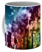 Q-city Three Coffee Mug