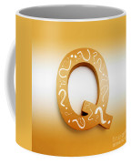 Q For Education And Learning Coffee Mug
