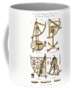 Quadrants And Sextant, 1790 Coffee Mug