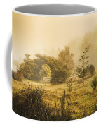 Quaint Countryside Scene Of Glen Huon Coffee Mug
