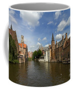 Quay Of The Rosary In Bruges Belgium Coffee Mug