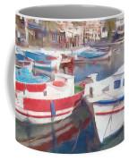 Quay On The Island Of Crete Coffee Mug