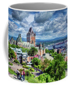 Quebec City Overlook Coffee Mug