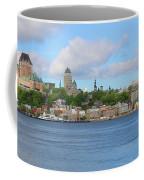 Quebec City Waterfront  6320 Coffee Mug