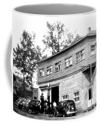 Quebec Garage 1940s Coffee Mug