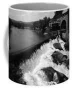 Quechee, Vermont - Falls 3 Bw Coffee Mug