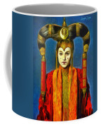 Queen Amidala Senate Costume Coffee Mug