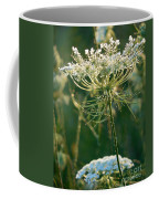 Queen Anne's Lace In Green Vertical Coffee Mug