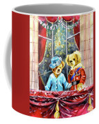 Queen Elizabeth And Prince Philip At Newby Hall Coffee Mug