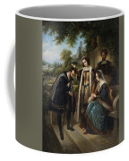 Queen Isabella And Columbus Henry Nelson Oneil Coffee Mug