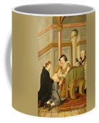Queen Mary I Curing Subject With Royal Coffee Mug