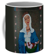 Queen St Isabel - The Miracle Of The Roses Coffee Mug