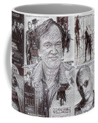 Quentin Tarantino Poster Drawing Coffee Mug