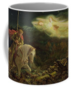 Quest For The Holy Grail Coffee Mug by Arthur Hughes