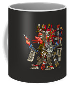 Quetzalcoatl In Human Warrior Form - Codex Borgia Coffee Mug