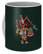 Quetzalcoatl In Human Warrior Form - Codex Magliabechiano Coffee Mug