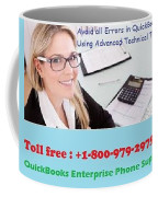 Quickbooks Enterprise Support To Help You Use A Flawless Accounting Program Coffee Mug