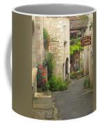 Quiet Lane In St Cirq I France Coffee Mug