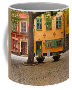 Quiet Little Square In Old Gamla Stan In Stockholm Sweden Coffee Mug