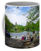 Quiet Moment In Central Park Coffee Mug