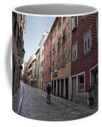 Quiet Street In Rovinj - Croatia Coffee Mug