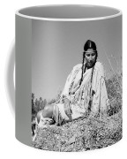 Quiet Time In Black And White Coffee Mug